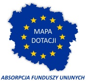 Mapa dotacji unijnych