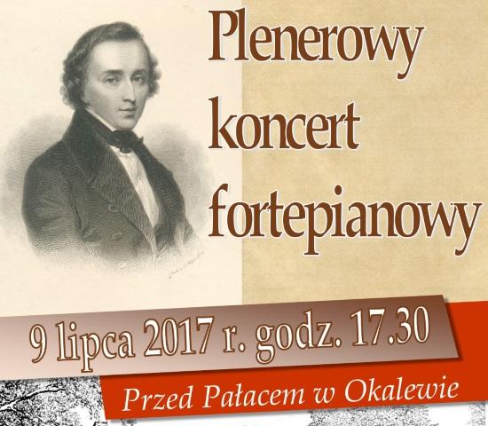 Plenerowy koncert fortepianowy - Okalewo, 9 lipca 2017 r.